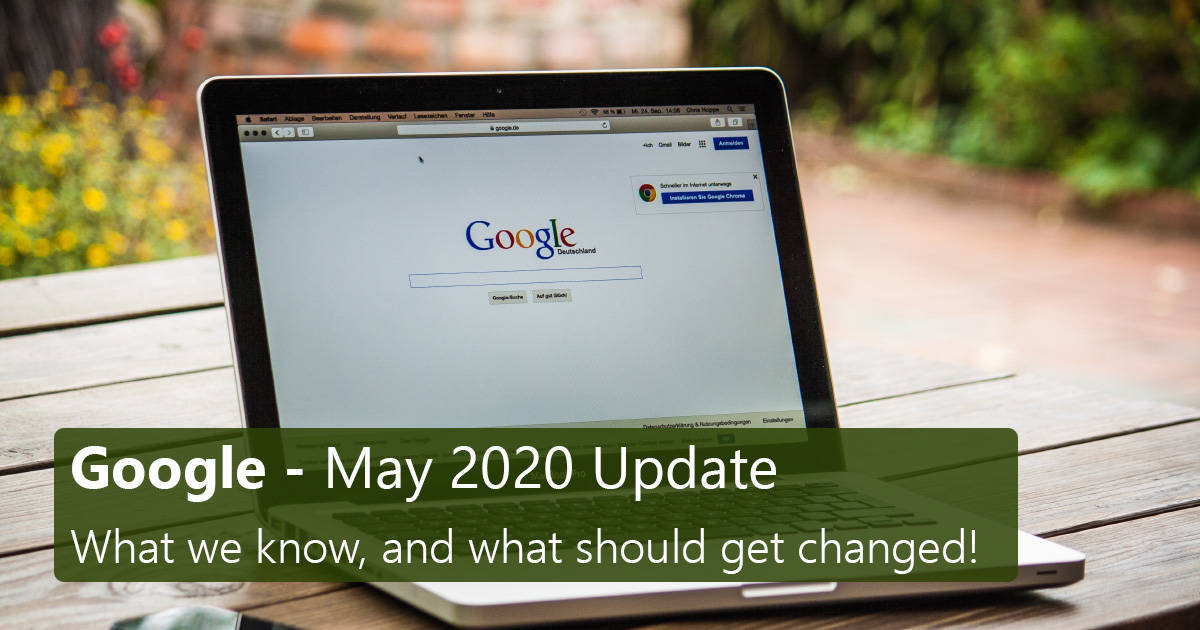 Google May 2020 Update